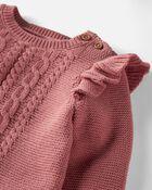Ensemble 2 pièces en tricot torsadé biologique, , hi-res