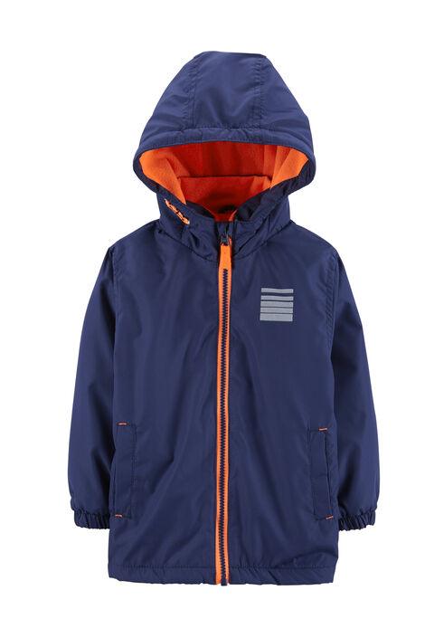Lightweight Fleece-Lined Jacket