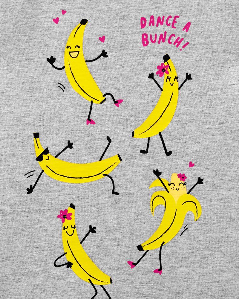 T-shirt en jersey avec banane qui dance, , hi-res