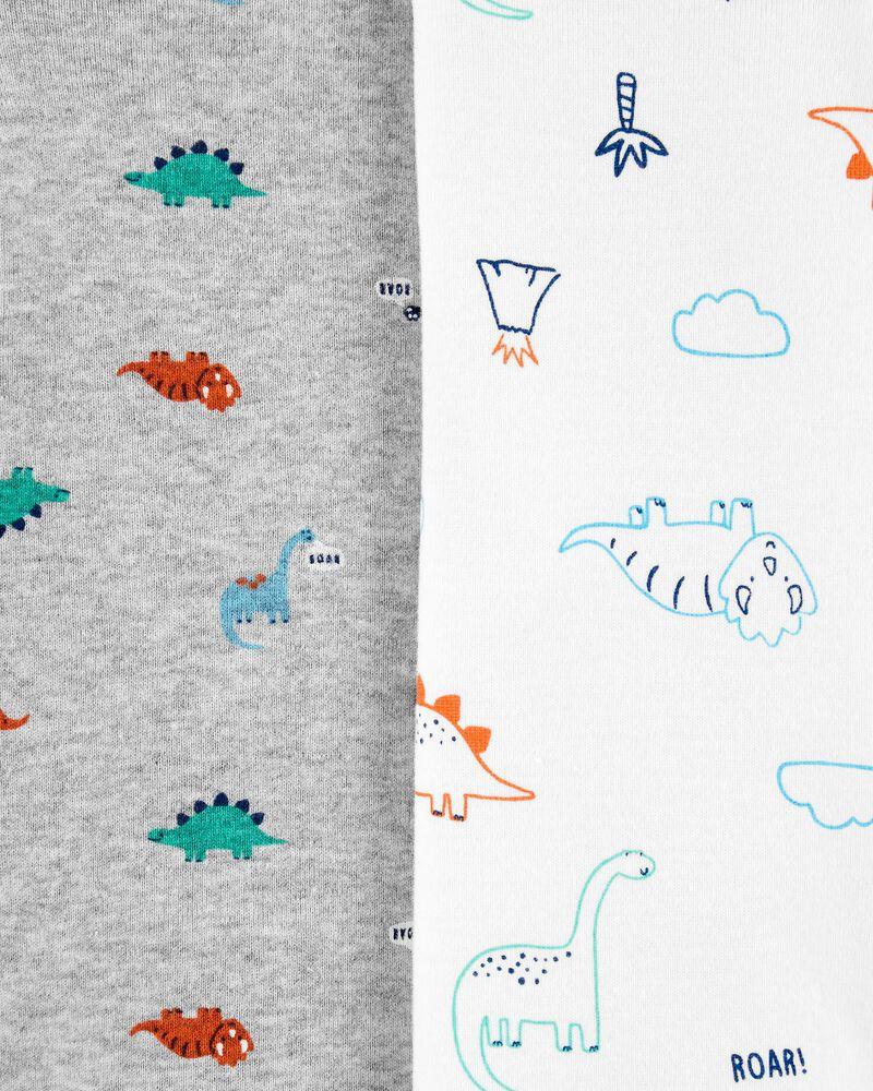 Emballage multiple 4 cache-couches originaux motif dinosaure, , hi-res