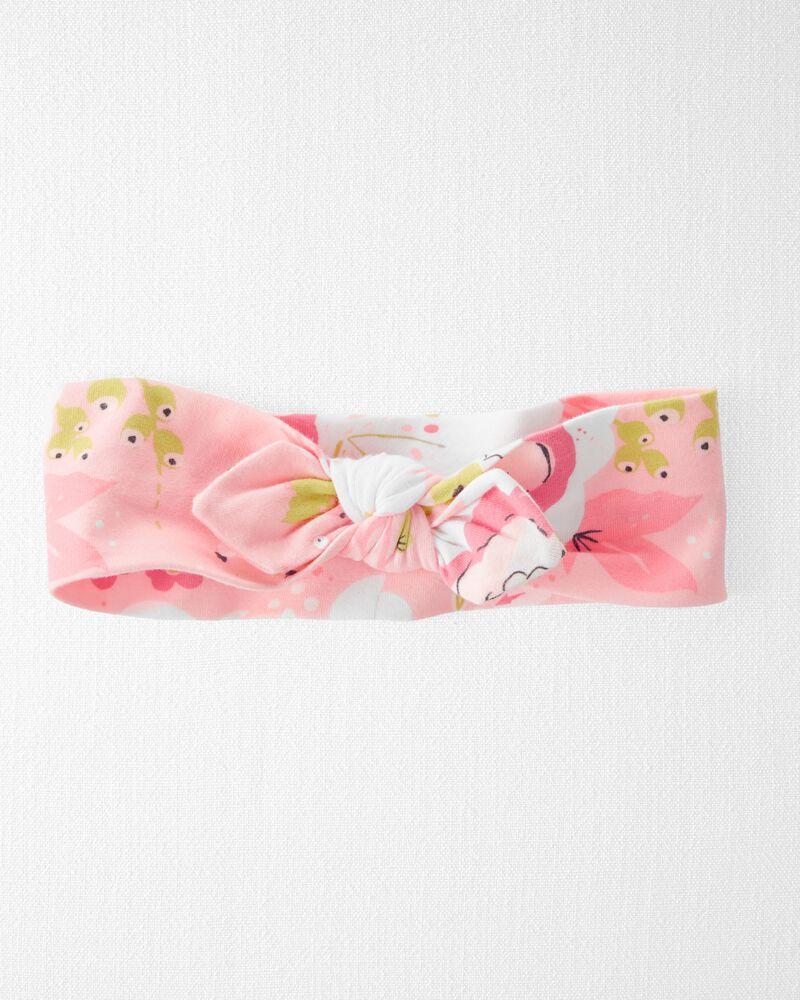 Organic Cotton Rib Headwrap, , hi-res