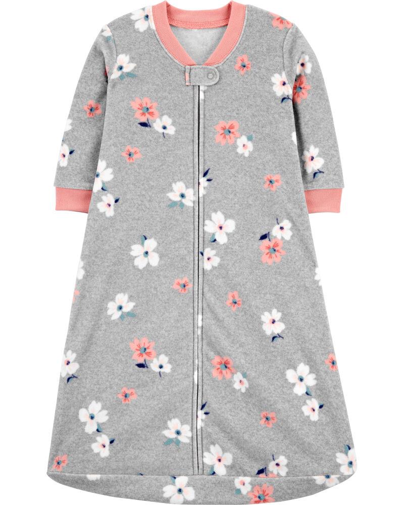 Floral Fleece Sleep Bag, , hi-res