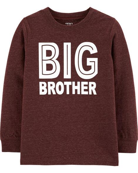 Big Brother Snow Yarn Tee