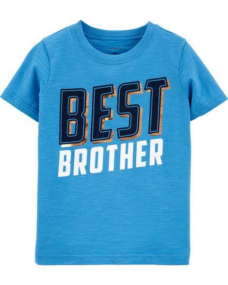 T-shirt en jersey Best Brother