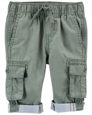 Pull-on Convertible Cargo Pants