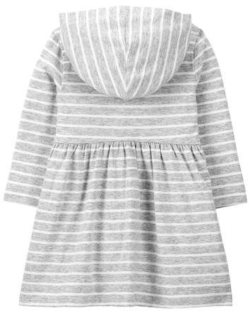 Heart Hooded Jersey Dress
