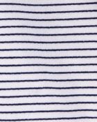 Striped Zip-Up French Terry Hoodie, , hi-res