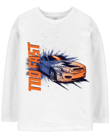 T-shirt en jersey avec slogan
