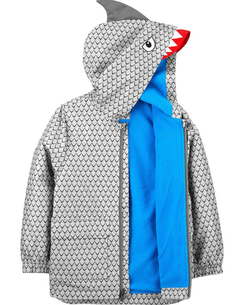 Shark Raincoat, , hi-res