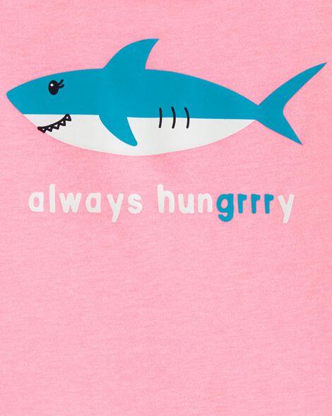 T-shirt à imprimé original requin
