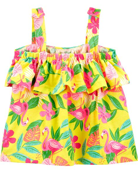 2-Piece Tropical Tank & Playground Short Set