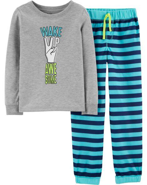 Pyjamas 2 pièces Wake Up Awesome