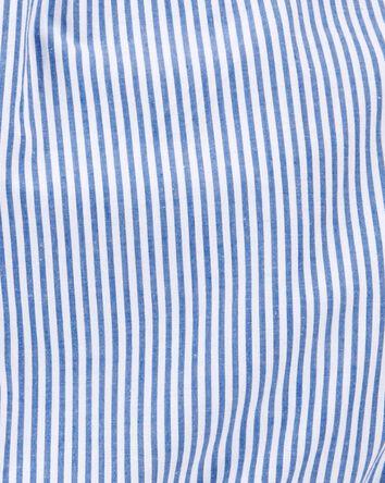 Striped Woven Romper