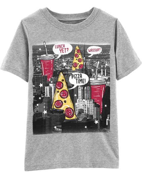 Pizza Time Jersey Tee