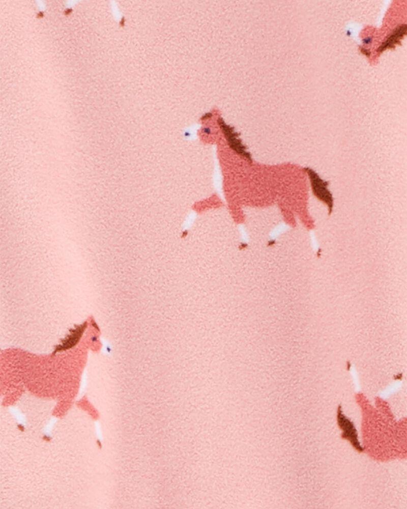 1-Piece Horse Fleece Footie PJs, , hi-res