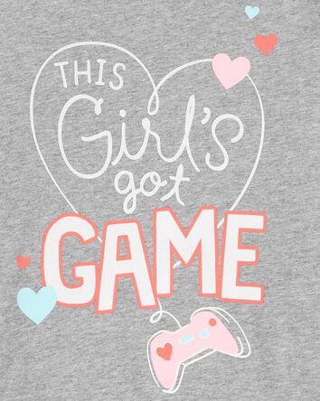 Girl Gamer Jersey Tee