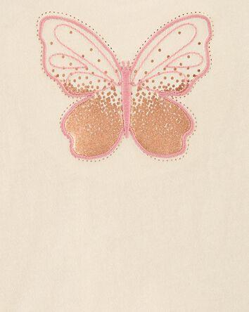 T-shirt à imprimé de papillons