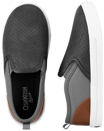 Chaussures à enfiler en similicuir
