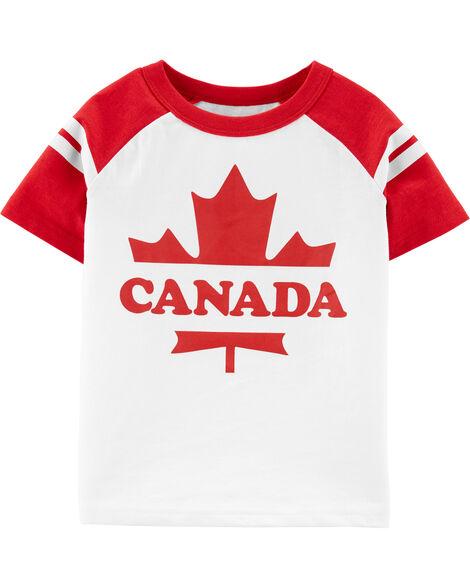 Canada Raglan Tee