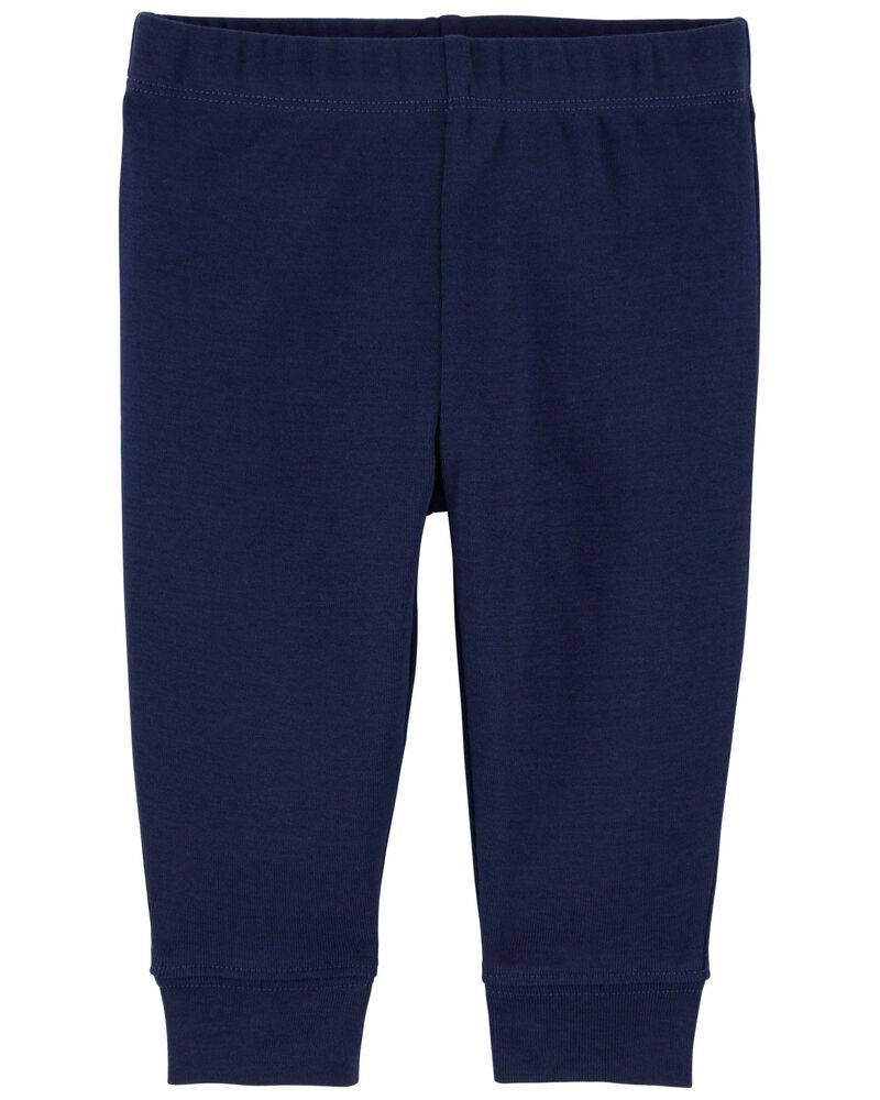 Pull-On Cotton Pants, , hi-res
