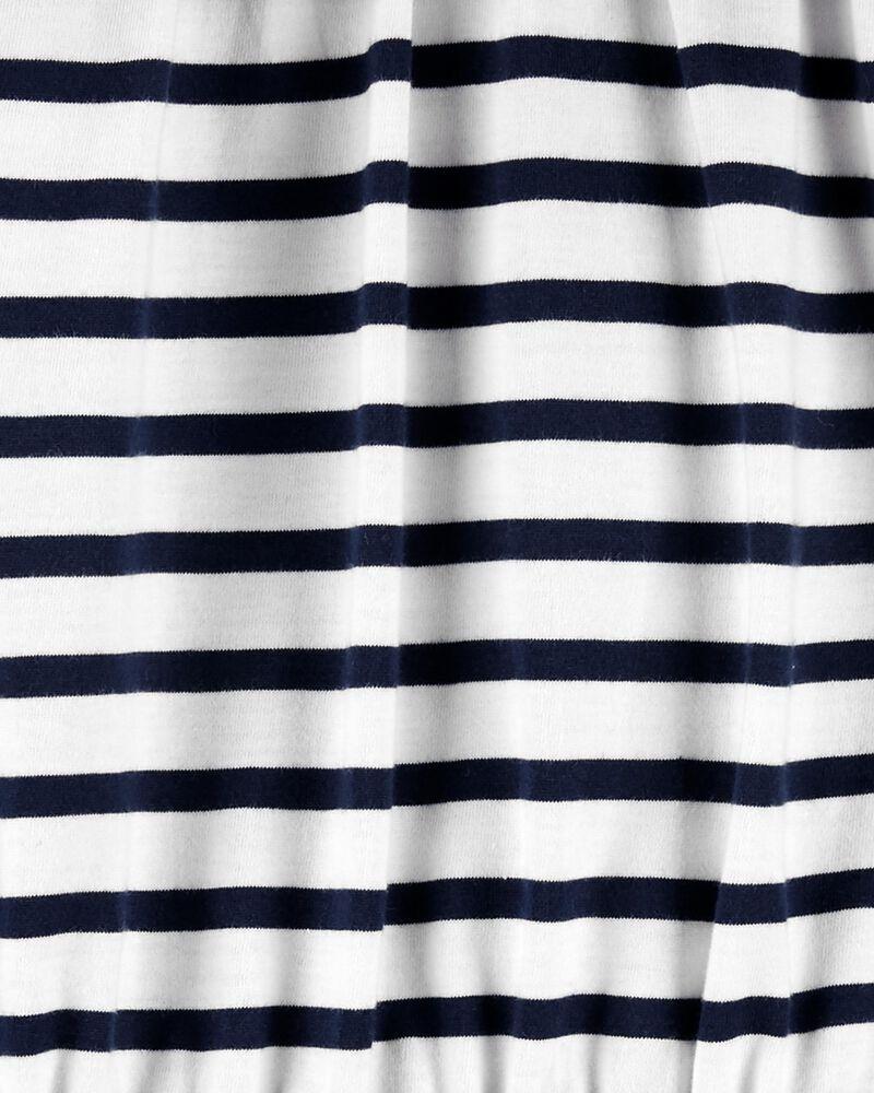 Ruffle Striped Romper, , hi-res