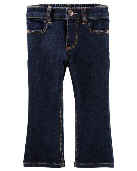 Jeans doux botte étroite - délavage héritage