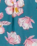 Robe de popeline fleurie, , hi-res