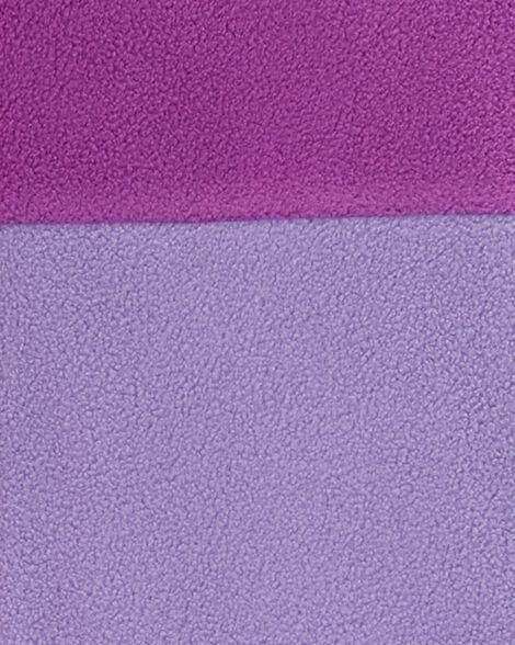 Haut molletonné à blocs de couleurs contrastantes