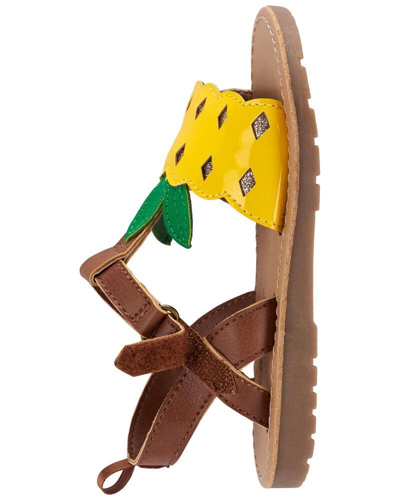 Pineapple Sandals, , hi-res