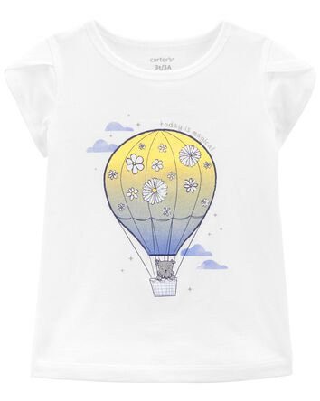 Hot Air Balloon Jersey Tee