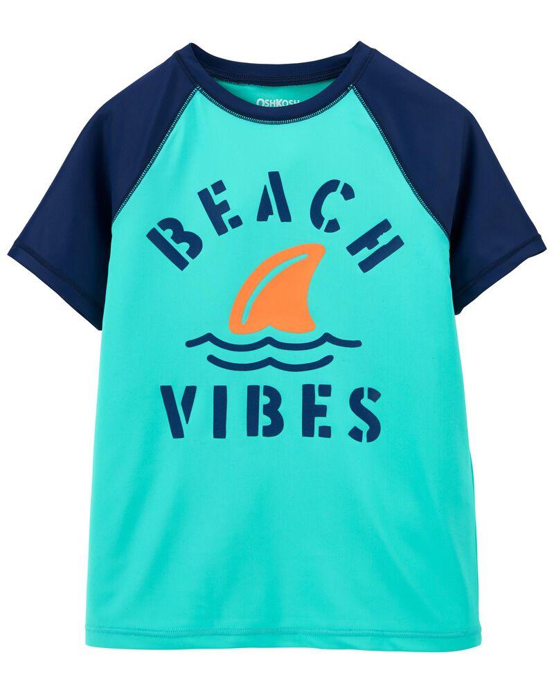 Beach Vibes Rashguard, , hi-res