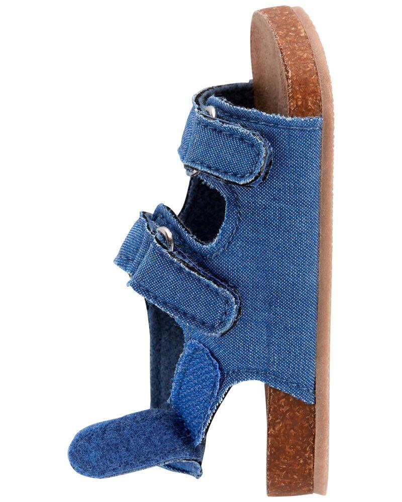 Sandales en liège pour bébés, , hi-res