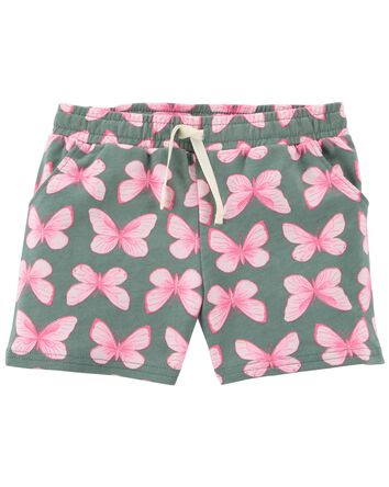 Butterfly Pull-On Shorts