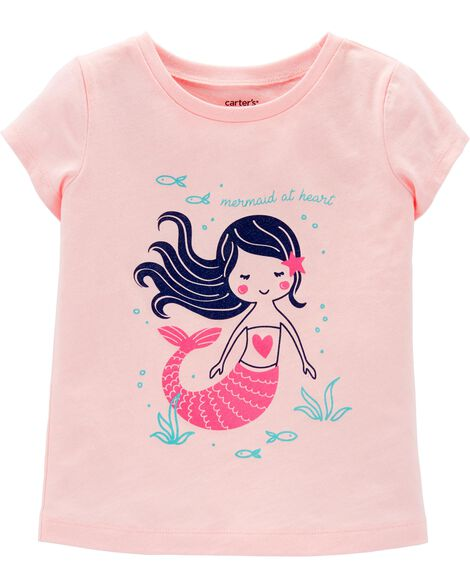 Mermaid Jersey Tee