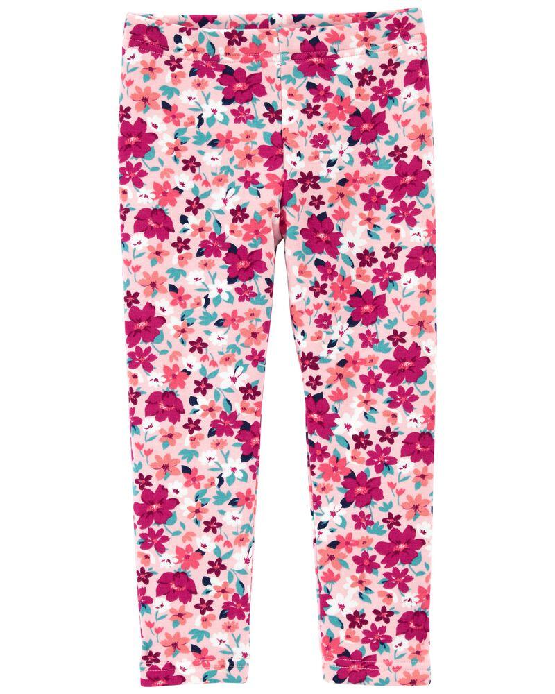 Floral Cozy Leggings, , hi-res