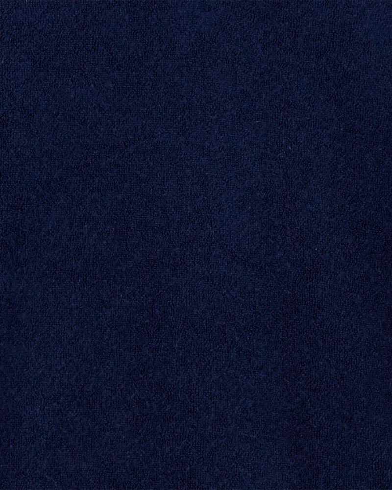 Cache-maillot à capuchon en jersey bouclette, , hi-res
