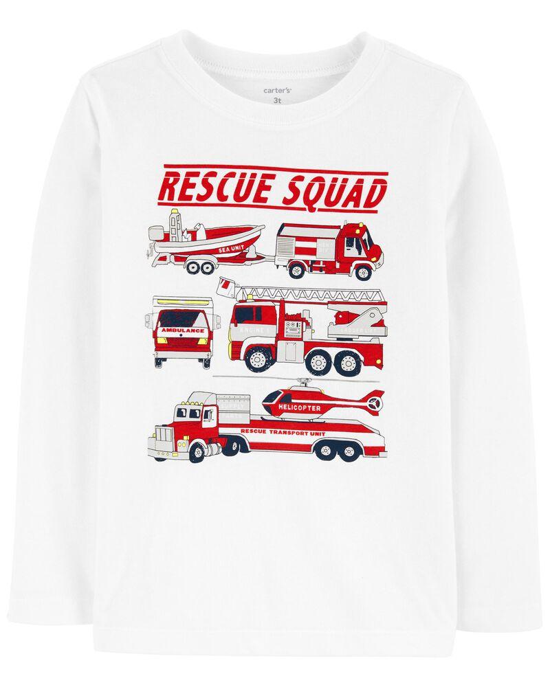 T-shirt en jersey Rescue Squad , , hi-res