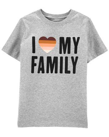I Love My Family Tee