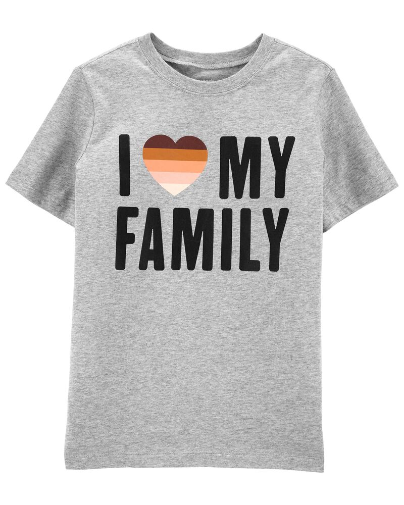 I Love My Family Tee, , hi-res