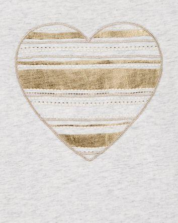Sequin Heart Tee