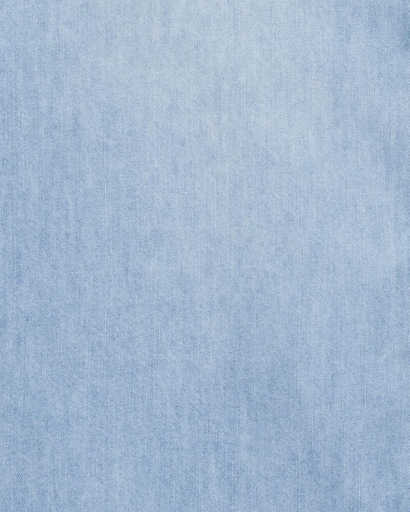 Lightweight Denim Shirt, , hi-res