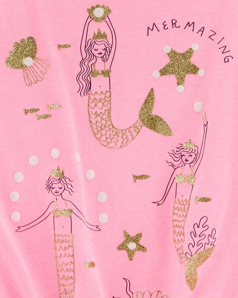 Glitter Mermaid Tie-Front Tank, , hi-res