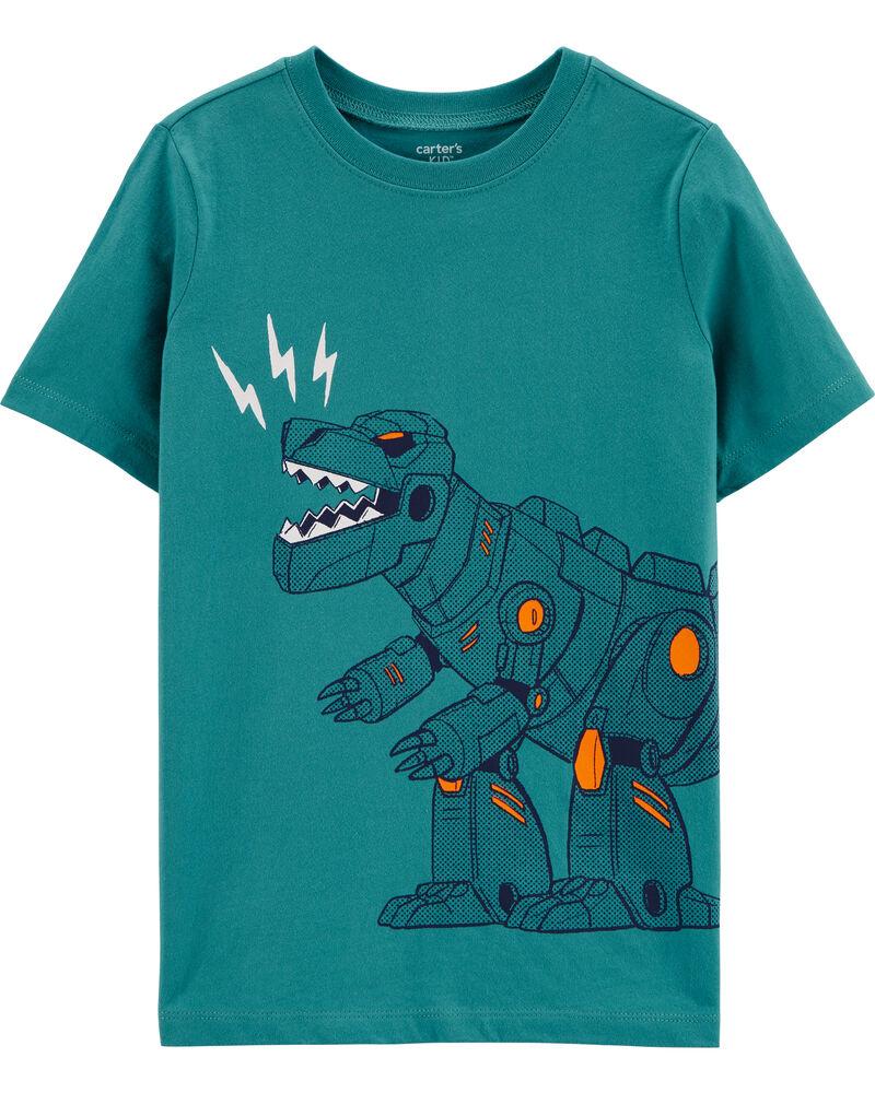 Robot Dinosaur Jersey Tee, , hi-res