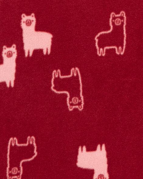 Llama Fleece Sleep Bag