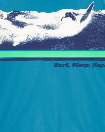 Surf, Sleep, Repeat Rashguard