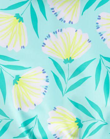 Floral 2-Piece Rashguard Set