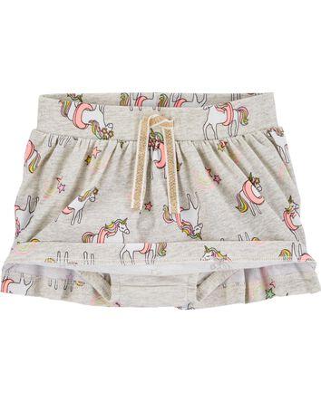 Jupe-short à licorne