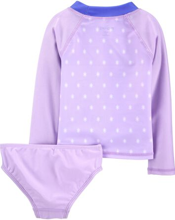 2-Piece Frozen Rashguard Set