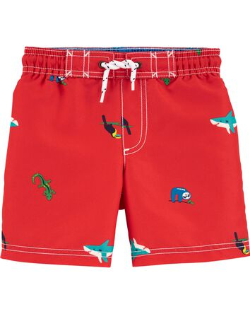 Sea Turtle Swim Trunks