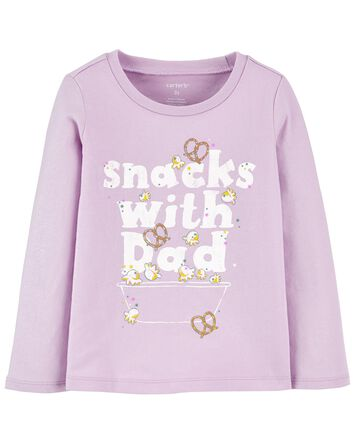 Snack Jersey Tee